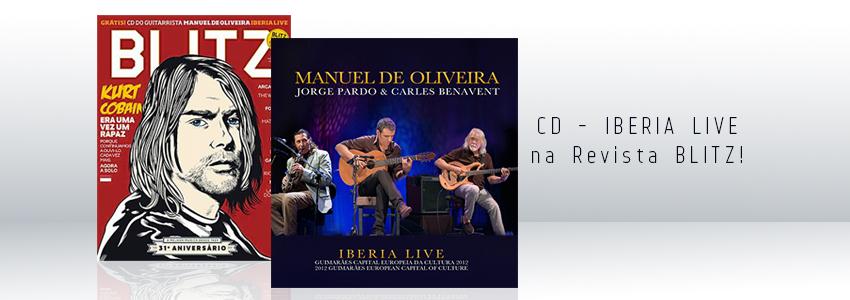 IBERIA LIVE - CD / Revista Blitz (Nov.)