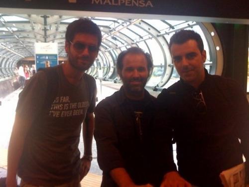 Manuel de Oliveira Trio Chegada a Milano
