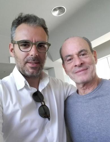 Manuel de Oliveira e Ney Matogrosso